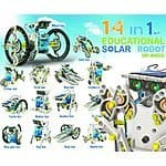 OWI 14-in-1 Solar Robot $18.56 & FREE Shipping (#1 Best Seller in Solar Power Kits)
