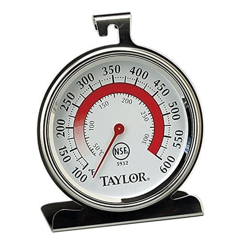 Taylor Precision Products Classic Series Large Dial Thermometer (Oven) $4.49