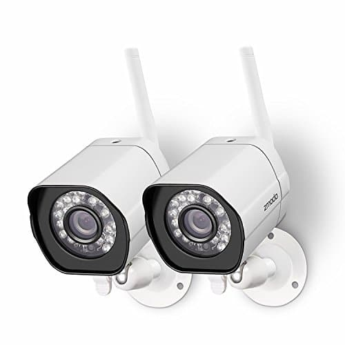 Zmodo Wireless Security Camera System (2 Pack) Smart HD