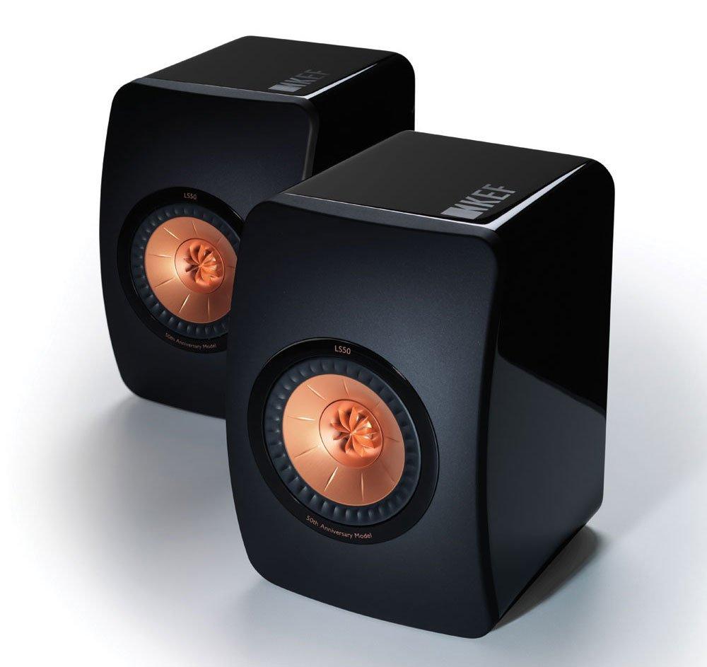 KEF LS50 Mini Monitor - High Gloss Piano Black (Pair) $999