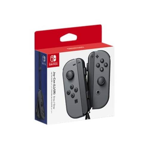 Nintendo Switch Joy-Con Pair, Left + Right (Gray) $66.75