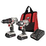 PORTER-CABLE 20-Volt Lithium Ion Cordless Combo Kit with Soft Case - $80 AC + FS @ Lowes