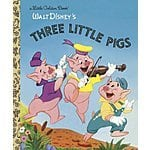 Three Little Pigs (Little Golden Book) Hardcover- $2.05 (w/ $2 vid/mp3 credit for no-rush prime shipping) @ Amazon