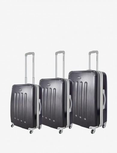 Dejuno 3-pc. Polycarbonate upright spinner luggage set - $69.99 ac + fs