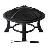Kohls Deal: SONOMA outdoors™ Fire Pit w/Screen Cover, Wood Grate and Poker - $33.50 AC + FS @ Kohls (for Kohls Charge Members only)