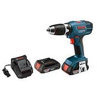 Home Depot Deal: Bosch 18-Volt Lithium-Ion 1/2 in. Cordless Compact Drill/Driver w/ 2 Batteries + $12 filler item - $75 AC + FS @ Homedepot