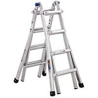 Lowes Deal: Werner 17-ft Aluminum 300-lb Telescoping Type IA Multi-Position Ladder - $104 AC + FS @ Lowes