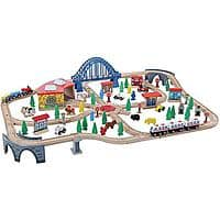 Walmart Deal: 120-Piece Rocky Mountain Wooden Train Set - $34.98 + FS w/Shippingpass or store pick up