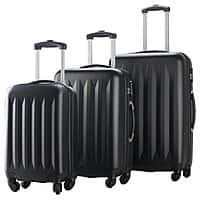 3-pc Hardside Luggage Spinners Set w/ Built-in Combination Lock - $  65 + FS @ Rakuten