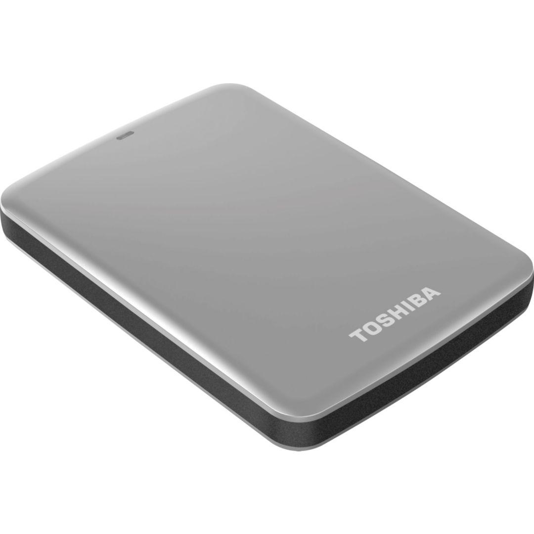 3x Toshiba® Hard Drives; Canvio® Connect Portable USB 3.0, 1TB + FREE Bluetooth Soundbar/Speaker - $110 + FS @ Quill.com