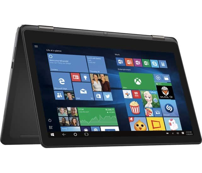 """Dell Inspiron 2-in-1 15.6"""" 4K Ultra HD Touch-Screen Laptop - Intel Core i7 - 8GB Memory - 1TB Hard Drive (Open Box Excellent) - $489 + FS @ Bestbuy w/EDU discount coupon"""