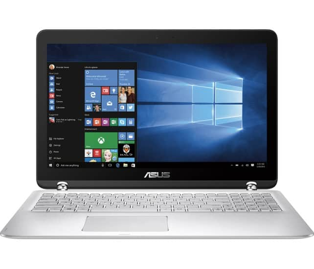 "Asus Q504UA 15.6"" 2-in-1 Touchscreen Laptop: i5-6200U. 12GB DDR4, 1TB HDD. 1080p (Open Box Excellent) - $436 (after EDU discount and Amex offer) @ Bestbuy"