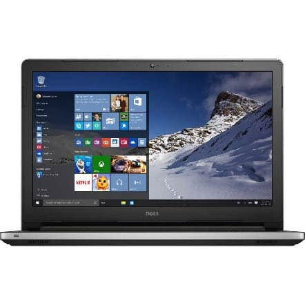 "Dell Inspiron i5559-7080SLV Intel Core i7-6500U, 15.6"" 1080p Touchscreen Laptop with Real Sense, 8GB RAM, 1TB HDD, AMD R5 4GB graphics - $489 w/promo code @ Frys storepickup only"