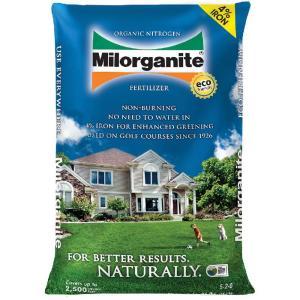Milorganite Organic Nitrogen All Purpose Long Lasting Fertilizer, 36 lbs - $5 YMMV B&M Clearance @ Walmart