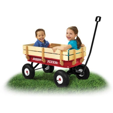 Radio Flyer Full Size All-Terrain Steel & Wood Wagon - $30 YMMV @ Walmart