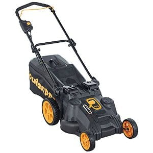 "Poulan Pro 967044401 40V Electric Start Dual Blade Mower, 20"" w/ 2 Batteries and Charger - $182 @ Amazon"