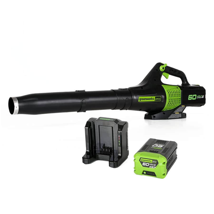 Greenworks Pro 60-Volt Max-Volt Lithium Ion (Li-ion) 540 Cfm 140 Mph Heavy-Duty Brushless Cordless Electric Leaf Blower - $129 + FS @ Lowes