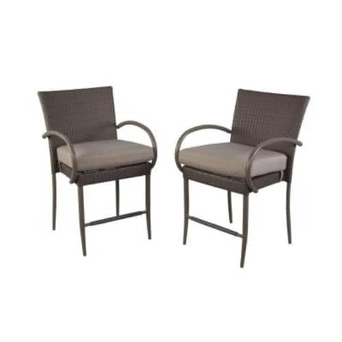 75% off 2-pack outdoor patio dining chairs - from $54.75/set + free ship to store @ Homedepot