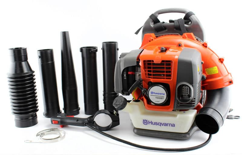 New Husqvarna 150BT 50cc 2 Cycle Gas Commercial Leaf Backpack Blower with Harness - $212 AC + FS @ Ebay via VMinnovations