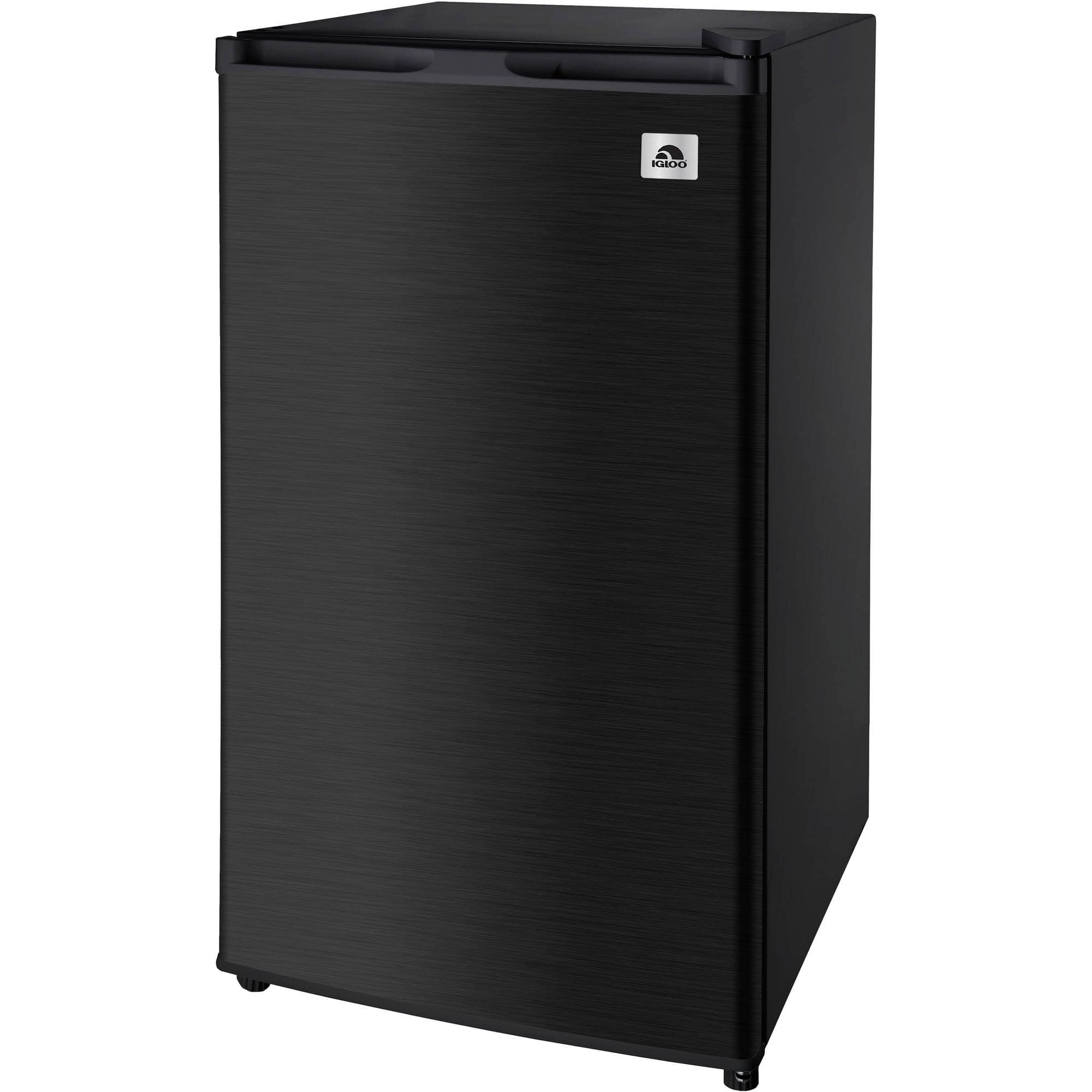 IGLOO 3 2 cu ft Stainless Steel Refrigerator Black Slickdeals