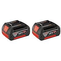 Amazon Deal: Bosch BAT620-2PK 18-volt Lithium-Ion 4.0 AH Battery with Digital Fuel Gauge, 2-Pack for $99 Amazon