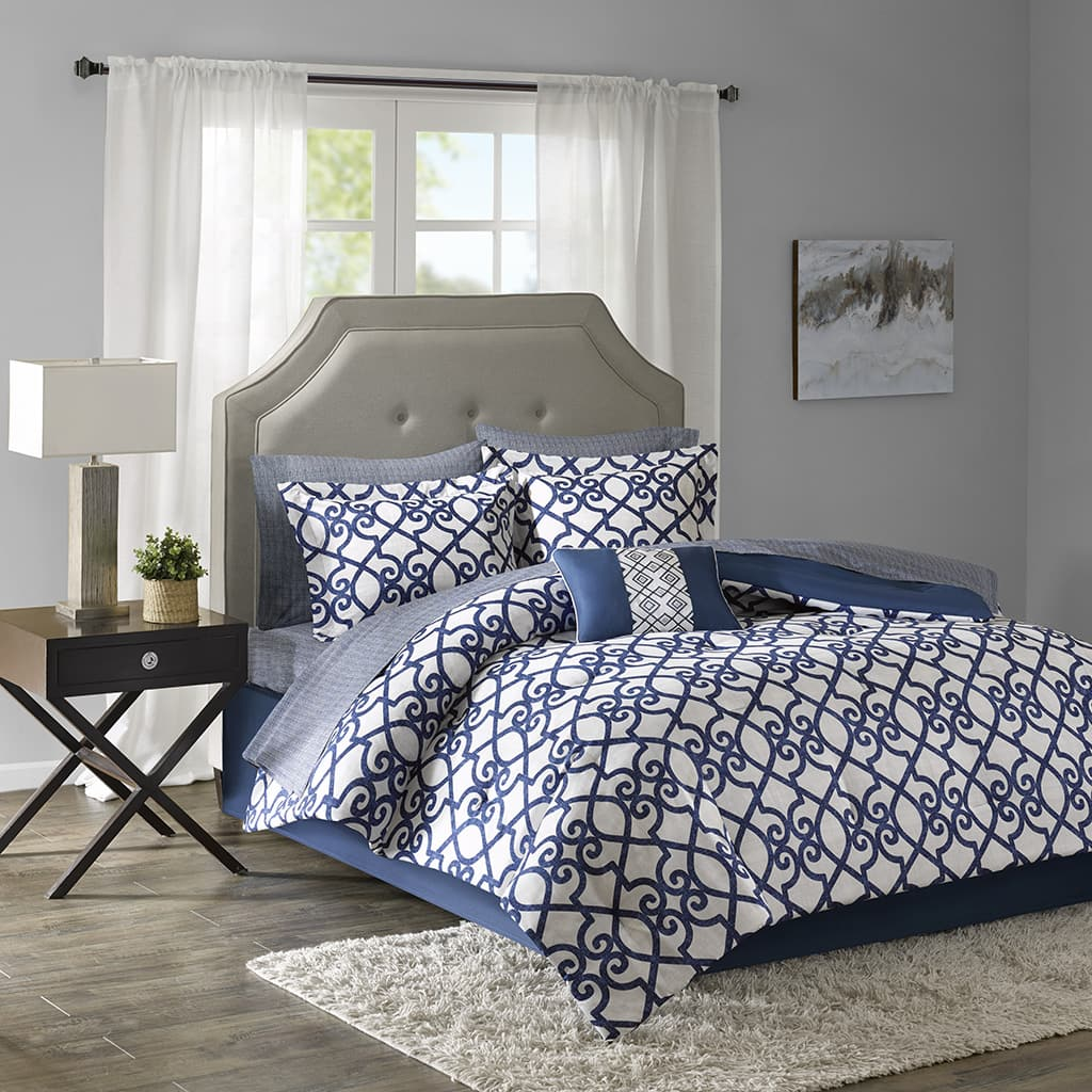 Comforter sets some with cotton sheets for $29.99 Free ship w/$75 purchase
