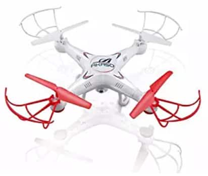 Akaso X5C 4-Channel 2.4-GHz 6-Axis Gyro Headless 360-Degree 3D Rolling Mode RC Drone Quadcopter $17.99