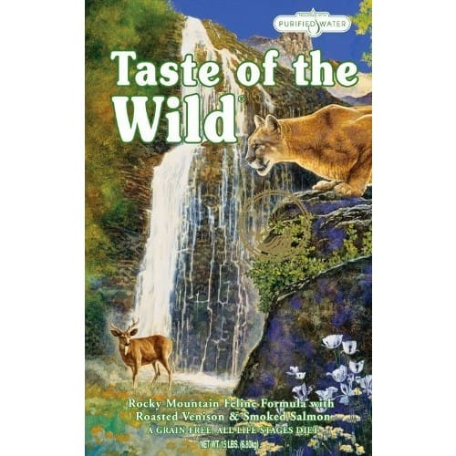 Taste of the Wild Cat Food - 15 lbs. Venison and Salmon - $21.69