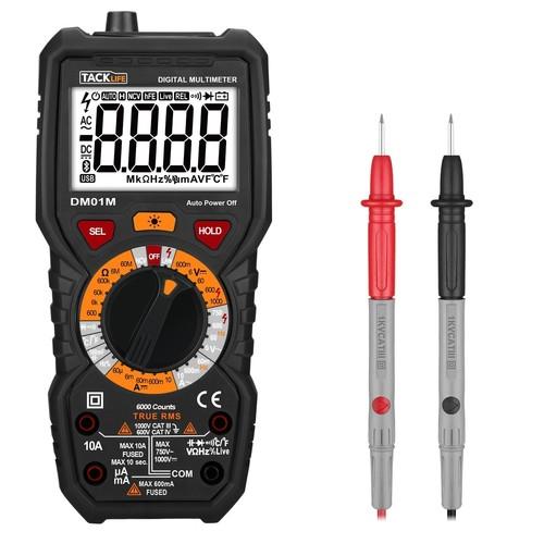 Tacklife DM01M Advanced Digital Multimeter - $16.97 @ Amazon