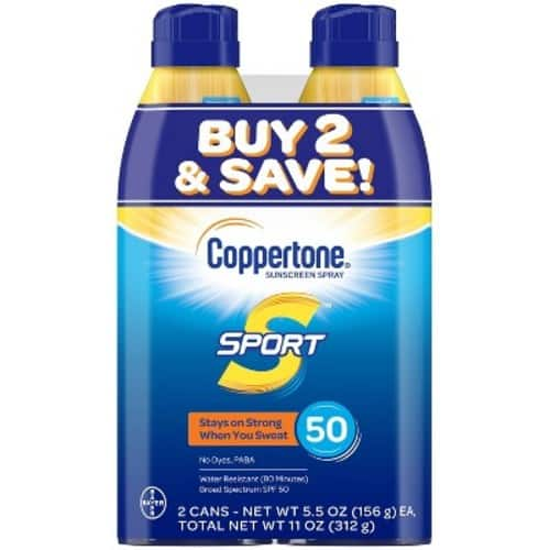 Coppertone SPF 30 @ Target - 4 (6.9 oz) cans for $13.98 plus Tax - YMMV