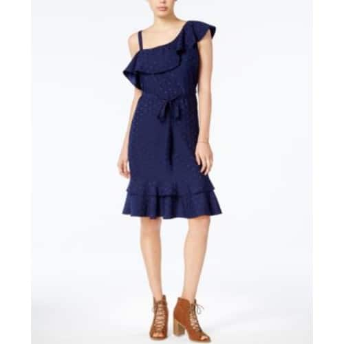 Maison Jules One-Shoulder A-Line Dress, Created for Macy's $15.39