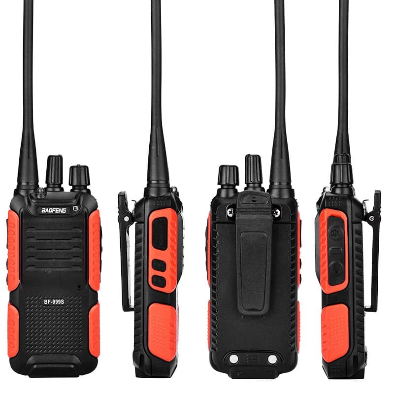 BAOFENG BF-999S Walkie Talkie Single Band Two Way Radio Interphone Tansceiver + Free Shipping $17.99