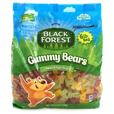 88a6d4b8fc8d6 6-lbs Black Forest Gummy Bears Ferrara Candy - Slickdeals.net