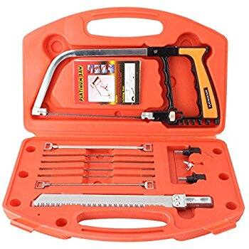 Magic Handsaws Set, Pathonor HSS 12-Inch 12pcs/set DIY Multi Purpose Bow Saw $12.51 @Amazon
