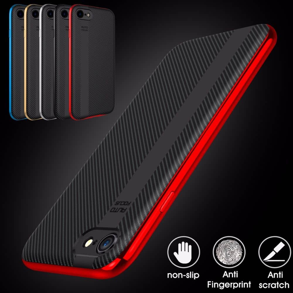 iPhone 7 case, Ultra Thin Hard Soft Dual Layer Shockproof Bumper Case Cover for $4.49 + FS @celldecor via ebay