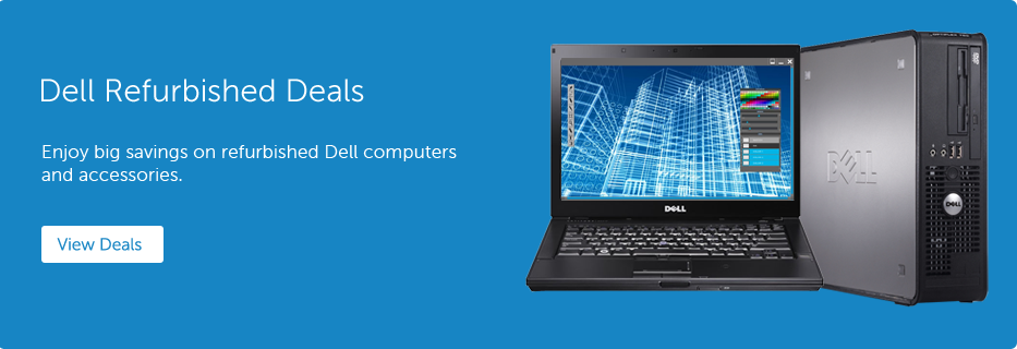 Dell Refurbished (Dell Financial Service) 48%Off sitewide and free ground shipping