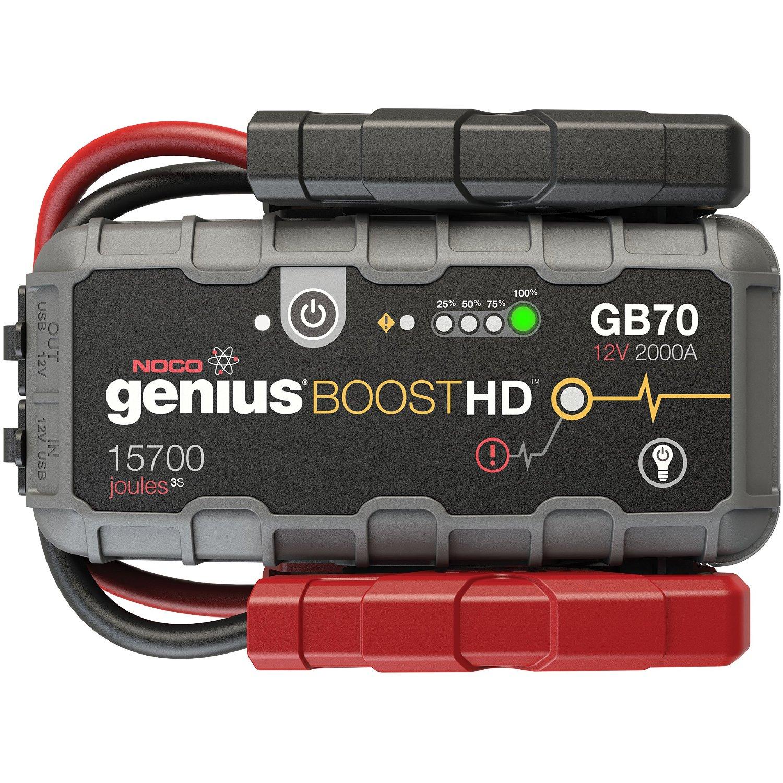 NOCO Genius Boost HD GB70 2000 Amp 12V UltraSafe Lithium Jump Starter $133.80