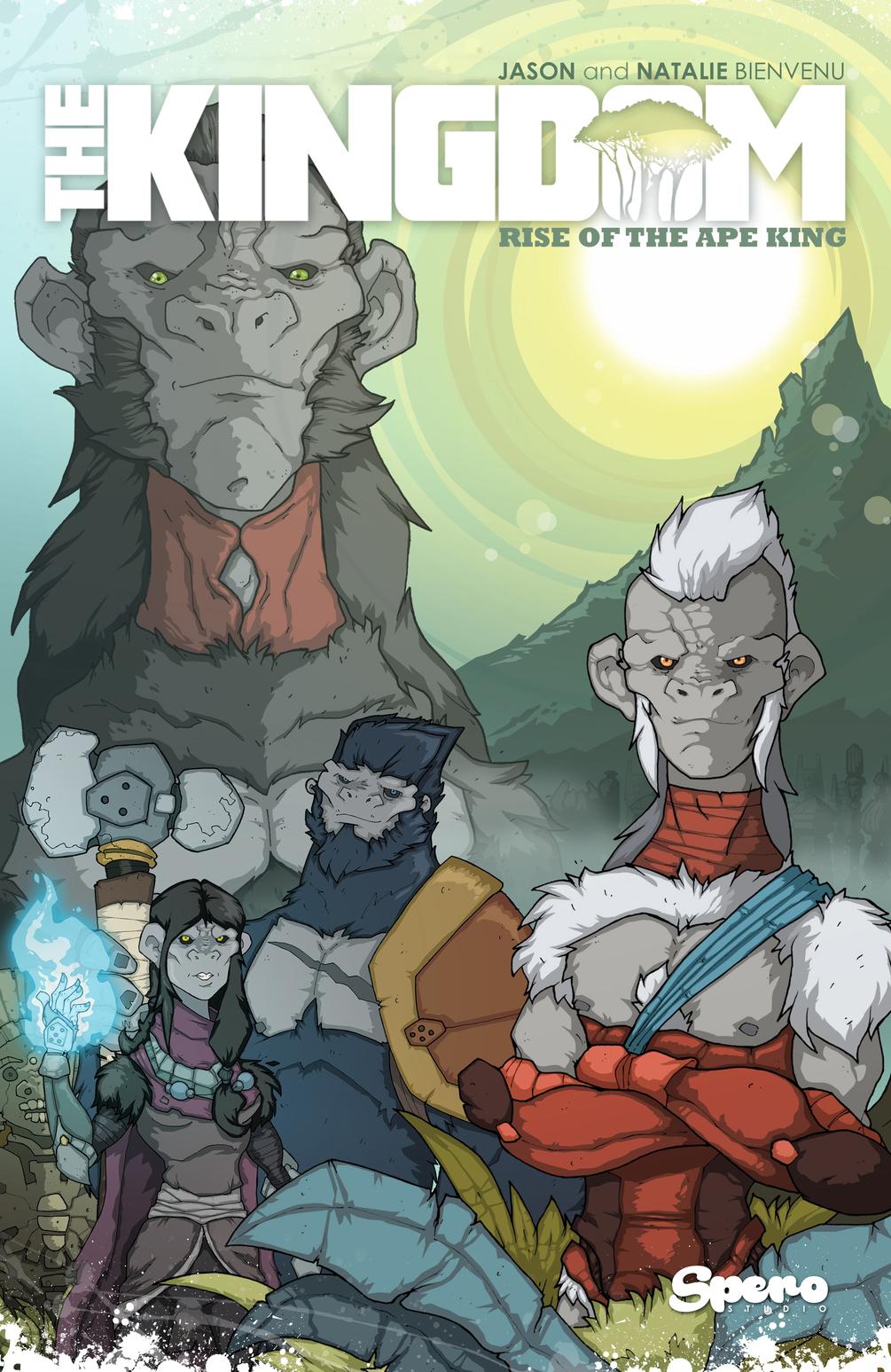 "Free Digital ""Animal Warriors of the Kingdom"" graphic novel"