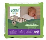 4 Pack of Seventh Generation Overnight Diapers Size 5  (( 20 per pack)) as low as $19.78 Shipped