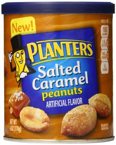 8 Pack Planters Peanuts, Salted Caramel, 6 Ounce $7.69 Via Amazon S&S