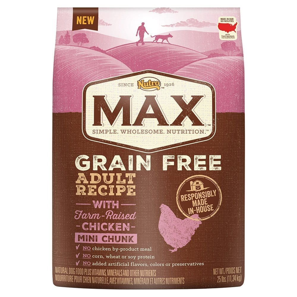 Nutro Max Grain Free Natural Adult Dry Dog Food