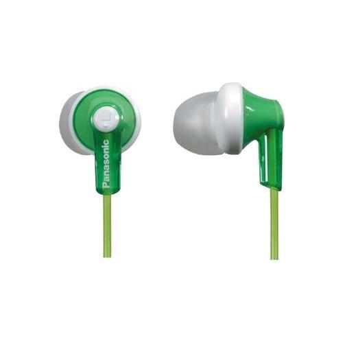 Panasonic ErgoFit In-Ear Earbud Headphones RP-HJE120-G (Green) $5.99@amazon
