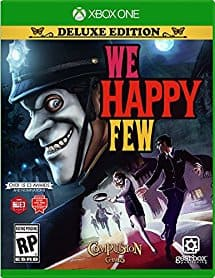 Amazon is selling We Happy Few Deluxe Edition (pre-order) Xbox One for $45 with free shipping (prime members) msrp $79.99