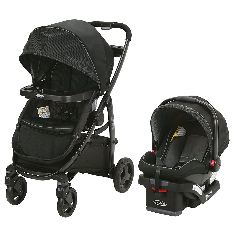 Graco Modes Travel System | Includes Modes Stroller and SnugRide SnugLock 35 Infant Car Seat, Dayton - $90 off $299.99