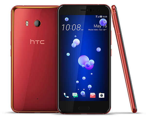 HTC U11 Red, Blue, Silver or Black $599+ tax Free Shipping!