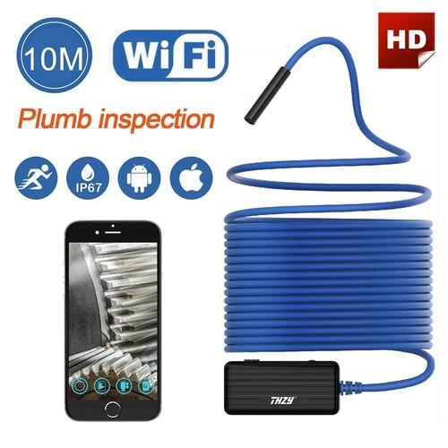 Wireless Endoscope HD 10m WiFi Inspection Camera for Smartphone $28.40
