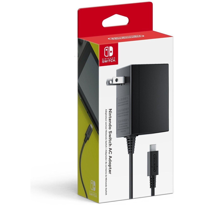 Nintendo Switch AC Adapter $24.99 Amazon.com