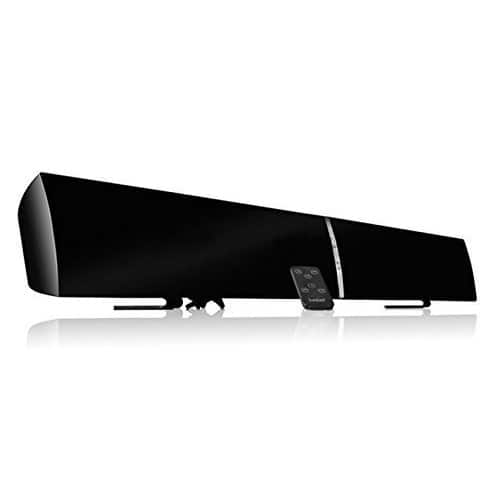 "LUGULAKE 39"" 2.0 Channel TV Soundbar System w/ Multi-Connection, USB, Remote Control,Wall Mounted Bluetooth Speaker $59.99 + Free Shipping @amazon"