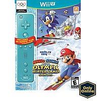 Walmart Deal: Mario & Sonic at the Olympic Games: Sochi 2014 w/Blue Wii Remote Plus Wii U $29.99 Walmart