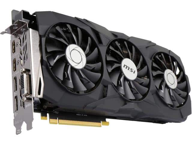 MSI GeForce GTX 1080 Ti DUKE 11G OC $689.99